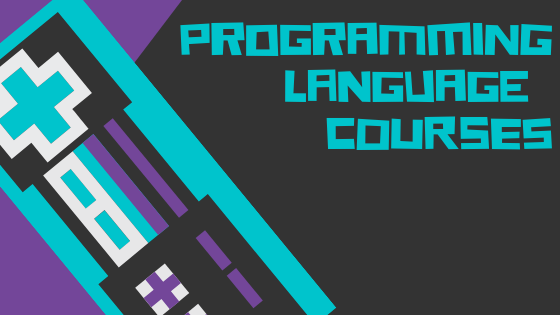 graphic of programming language course